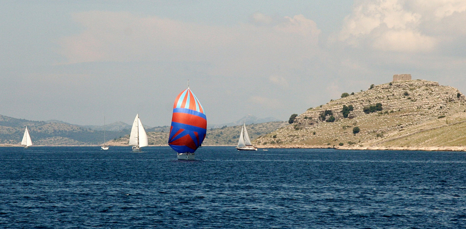 Sailing the Kornati channel